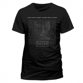 NINE INCH NAILS Head Like A Hole T-SHIRT 2016