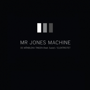 "MR JONES MACHINE De Manbleka Tingen 7"" VINYL LTD.300"