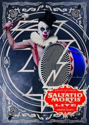 SALTATIO MORTIS Zirkus Zeitgeist - Live aus der Großen Freiheit 2DVD 2016