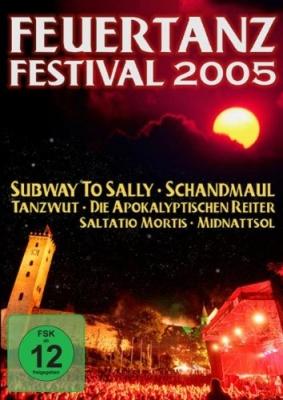 FEUERTANZ FESTIVAL 2005 DVD Schandmaul SUBWAY TO SALLY Tanzwut