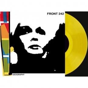FRONT 242 Geography (LP Yellow VINYL + CD) LTD.242