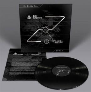DIE KRUPPS vs. FRONT LINE ASSEMBLY The Remix Wars: Strike 2 LP BLACK VINYL 2016