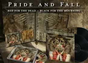 PRIDE AND FALL Red For The Dead - Black For The Mourning 2LP VINYL+2CD 2016