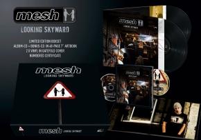 MESH Looking Skyward LIMITED 3LP VINYL+2CD+BUCH COMPLETE BOX 2016