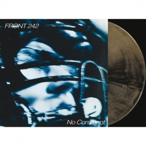 FRONT 242 No Comment / Politics of Pressure 2LP GOLD & BLACK VINYL + CD