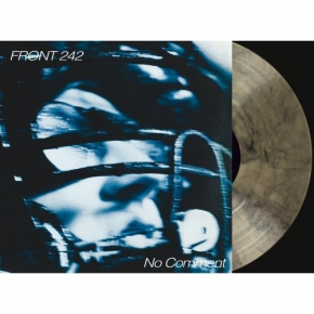 FRONT 242 No Comment / Politics of Pressure 2LP CLEAR & BLACK VINYL + CD