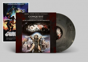 CLAUDIO SIMONETTI Conquest (A Film by Lucio Fulci -Original Soundtrack) LP VINYL