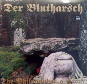 "DER BLUTHARSCH The Philosopher's Stone LP PHOSPHOR VINYL+7"" 2007 LTD.451"