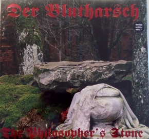 "DER BLUTHARSCH The Philosopher's Stone LP RED VINYL+7"" 2007 LTD.451"