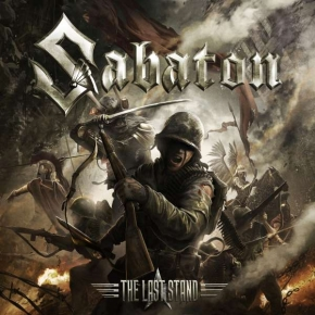 SABATON The Last Stand CD 2016