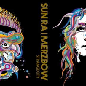 SUN RA / MERZBOW Strange City LIMITED LP VINYL 2016 + Downloadcode