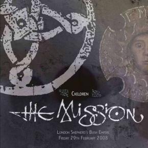 THE MISSION Live: Children LIMITED 2LP WHITE VINYL 2015