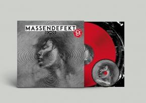 MASSENDEFEKT Echos LP RED VINYL+CD 2016 LTD.500
