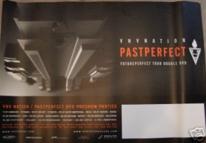 VNV NATION Pastperfect POSTER 40 x 60 cm