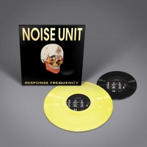 "NOISE UNIT Response Frequency LP YELLOW VINYL + 7"" 2016 LTD.150"