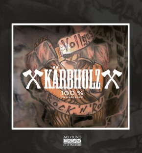 KÄRBHOLZ 100% LIMITED LP GREEN VINYL 2016