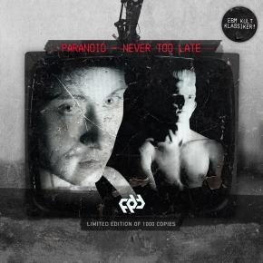PARANOID Never Too Late CD 2016 LTD.1000 PART 38