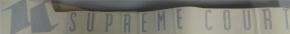SUPREME COURT Autoaufkleber 60cm