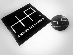 X MARKS THE PEDWALK Secrets (Limited Bundle) CD Digipack + Button + Sticker 2017