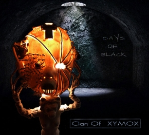 CLAN OF XYMOX Days Of Black CD Digipack 2017 (VÖ 31.03)