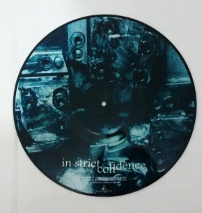 AGHAST VIEW / IN STRICT CONFIDENCE Industrial Love PICTURE VINYL 1999 LTD.333