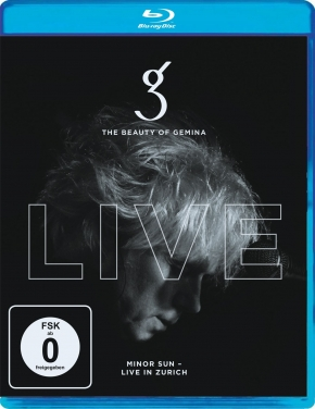 THE BEAUTY OF GEMINA Minor Sun - Live in Zurich BLU-RAY 2017