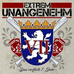 EXTREM UNANGENEHM Das Verflixte 7.Jahr CD 2017