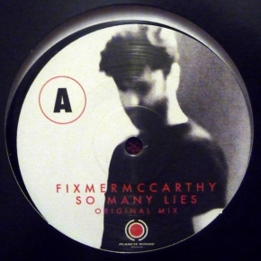 "FIXMER / MCCARTHY So Many Lies LIMITED 12"" VINYL 2016 NITZER EBB"