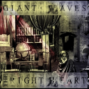 GIANT WAVES The Right Heart CD 2017 LTD.300