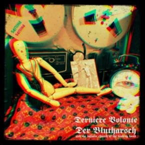 "DERNIERE VOLONTE & DER BLUTHARSCH A Collaboration 7"" ORANGE VINYL 2017 LTD.250"