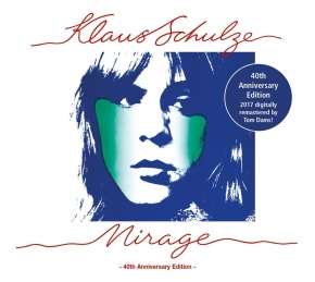 KLAUS SCHULZE Mirage (40th Anniversary Edition) CD Digipack 2017