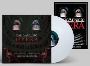 CLAUDIO SIMONETTI Opera LIMITED LP WHITE VINYL 2017 + Poster