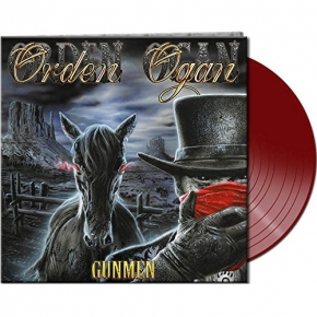 ORDEN OGAN Gunmen LP RED VINYL 2017 LTD.500