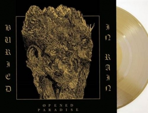 OPENED PARADISE Buried in Rain LP GOLD VINYL 2017 LTD.150