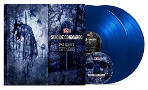 SUICIDE COMMANDO Forest Of The Impaled LIMITED 2LP BLUE VINYL + CD 2017 (VÖ 21.07)