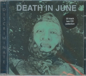 DEATH IN JUNE Discriminate 2CD 2017