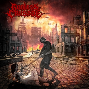 GODLESS CRUSADE World in Flames CD 2017