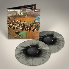 DIE KRUPPS Stahlwerksynfonie LIMITED 2LP GREY/BLACK VINYL 2017