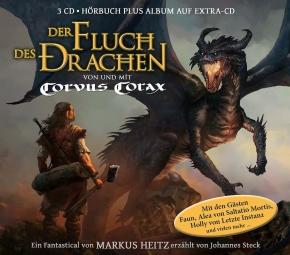 CORVUS CORAX Der Fluch des Drachen (Fantastical) 3CD Digipack 2017