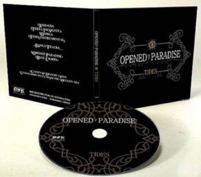 OPENED PARADISE Tides EP CD Digipack 2012 LTD.500