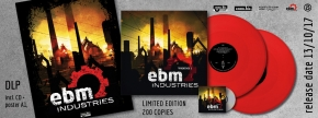 EBM Industries Vol.1 2LP RED VINYL+CD 2017 LTD.200 Tyske Ludder LEAETHER STRIP