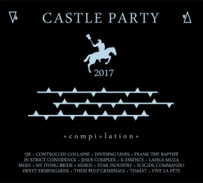 CASTLE PARTY 2017 CD Digipack In Strict Confidence SUICIDE COMMANDO Mesh