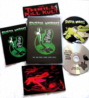 MY LIFE WITH THE THRILL KILL KULT Sinister Whisperz - Volume One: The 'Wax Trax' Years (1987-1991) 2CD BOX 2010 LTD.499