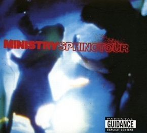 MINISTRY Sphinctour (Transparent Blue 2LP Vinyl) 2017
