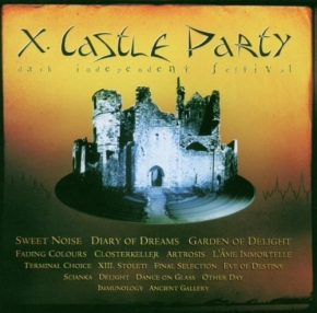 CASTLE PARTY 2003 CD Terminal Choice GARDEN OF DELIGHT Diary Of Dreams
