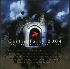 CASTLE PARTY 2004 CD Suicide Commando BLUTENGEL Deine Lakaien