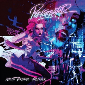 PERTURBATOR Night Driving Avenger LIMITED CD 2015