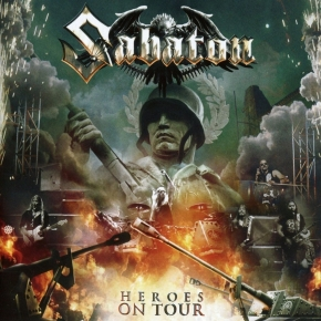 SABATON Heroes On Tour CD 2016