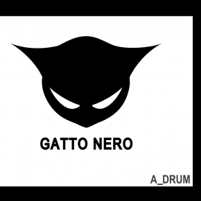 GATTO NERO. A_Drum CD Digipack 2017 HANDS