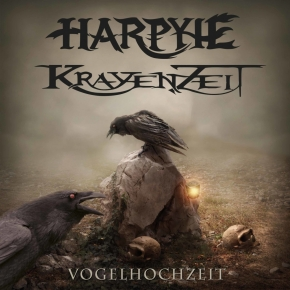 """HARPYIE / KRAYENZEIT Vogelhochzeit LIMITED 7"""" VINYL 2017"""